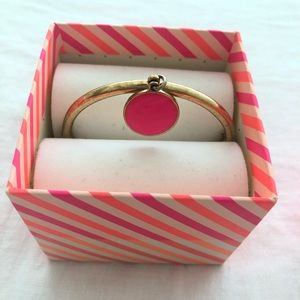 Kate Spade pink and gold bracelet
